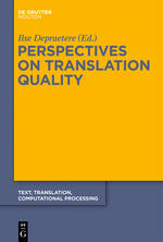 Quality Assurance in the translation workflow – A professional's testimony