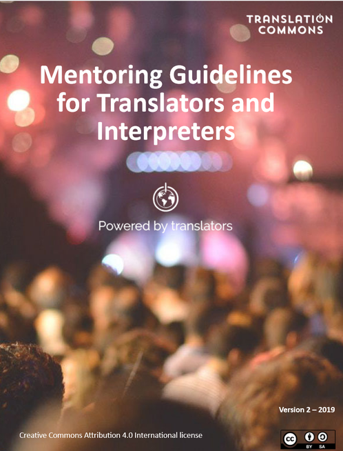 Mentoring guidelines for translators and interpreters