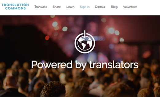 Translation Commons
